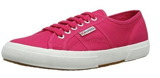 SUPERGA 2750 COTU CLASSIC AZALEA - S000010 - COL. AZALEA CLASSIC Schuhe di tela basse stingate a4aa11