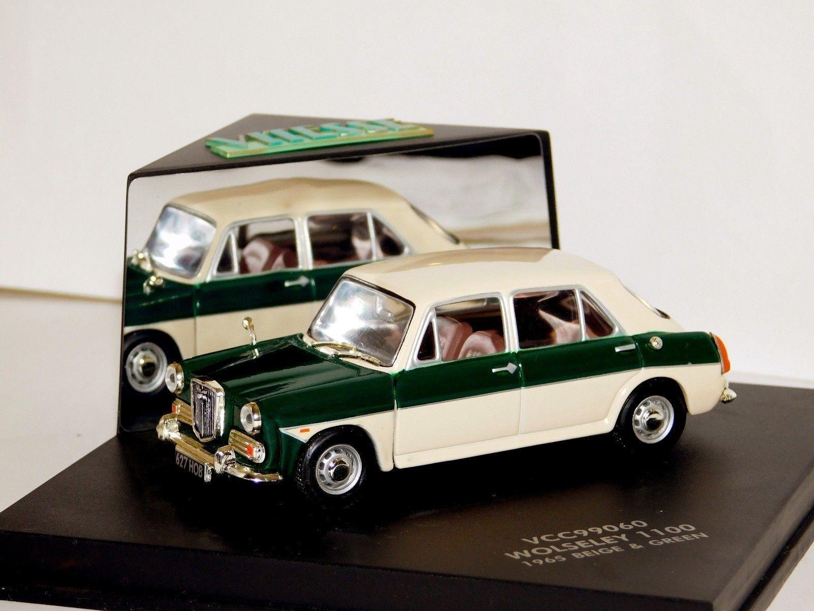 WOLSELEY 1100 1965 BEIGE & GREEN VITESSE VCC99060 1 43