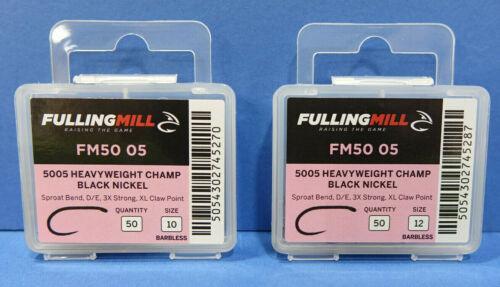 Fulling Mill 35005 HEAVYWEIGHT CHAMP 50 St BN barbless #10 #12 HEAVYWEIGHT CHAMP