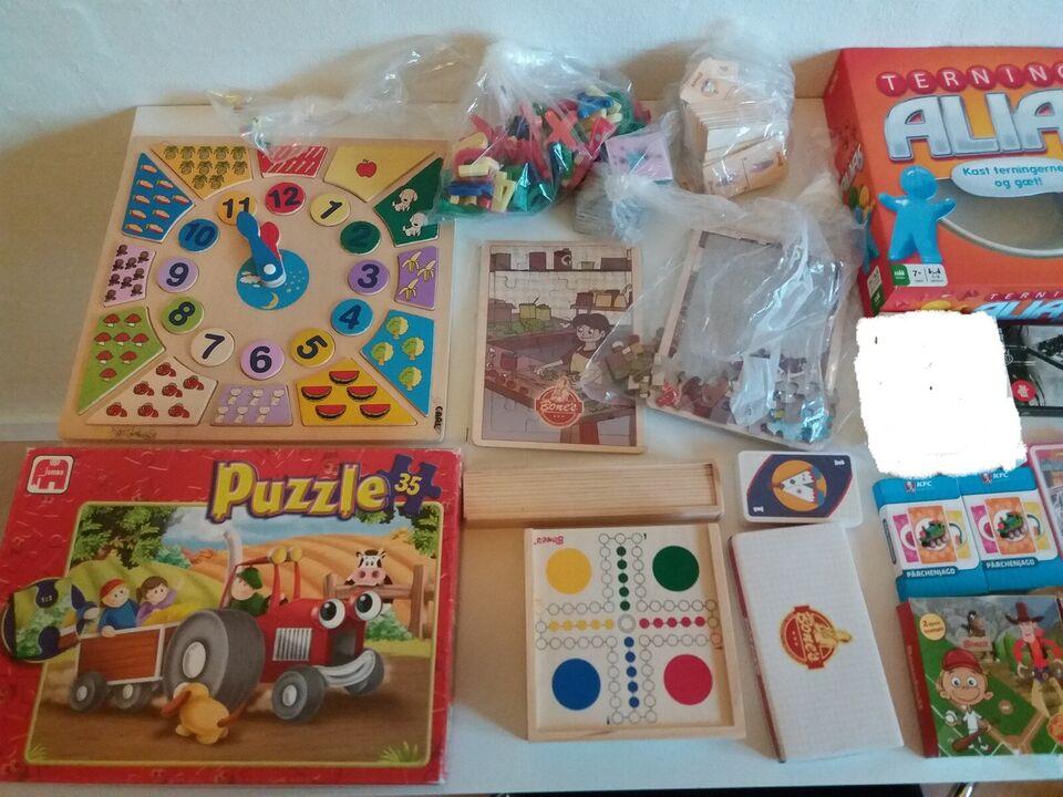 Forskellige børnespil mv., Forskellige børnespil mv.,