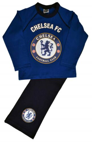 CH92 Kids Boys Chelsea FC Football Pyjamas Can Be Personalised with Name /& No.