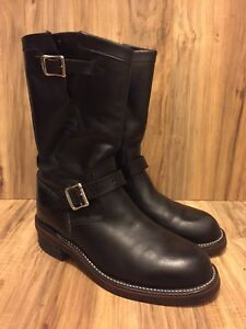 4683513393a5 Image is loading RARE-Original-Chippewa-Collection-1901M48-Engineer-Boot -Black-