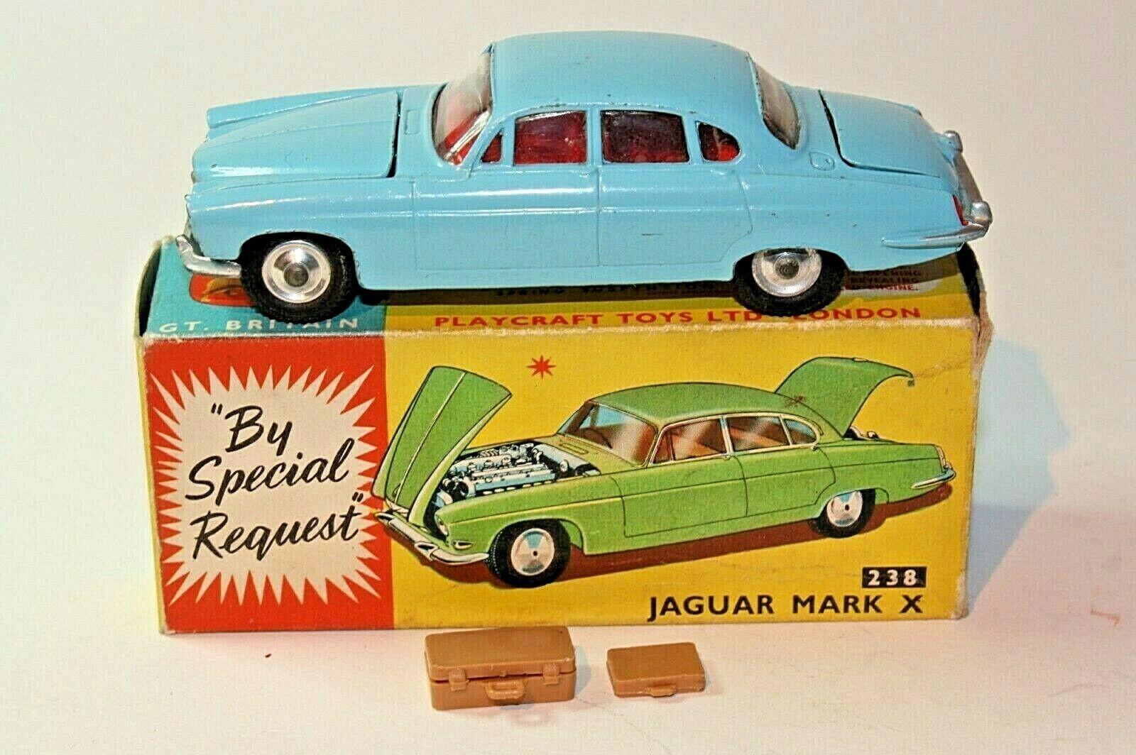 Corgi 238 Jaguar mkx, embalaje embalaje embalaje original, excelente calidad 573