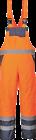 Portwest Contrast Hi Vis Bib & Brace Trousers Dungarees Workwear S - 3xl S488