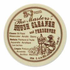 Masters Brush Cleaner / Preserver - 75ml - (2.5 oz) For Oil & Acrylic Paint