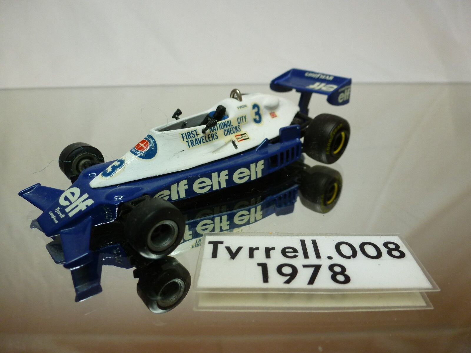 TYRRELL 008  WESTERN MODELS -    KIT (built)  - VERY RARE  1 43 - NICE CONDITION
