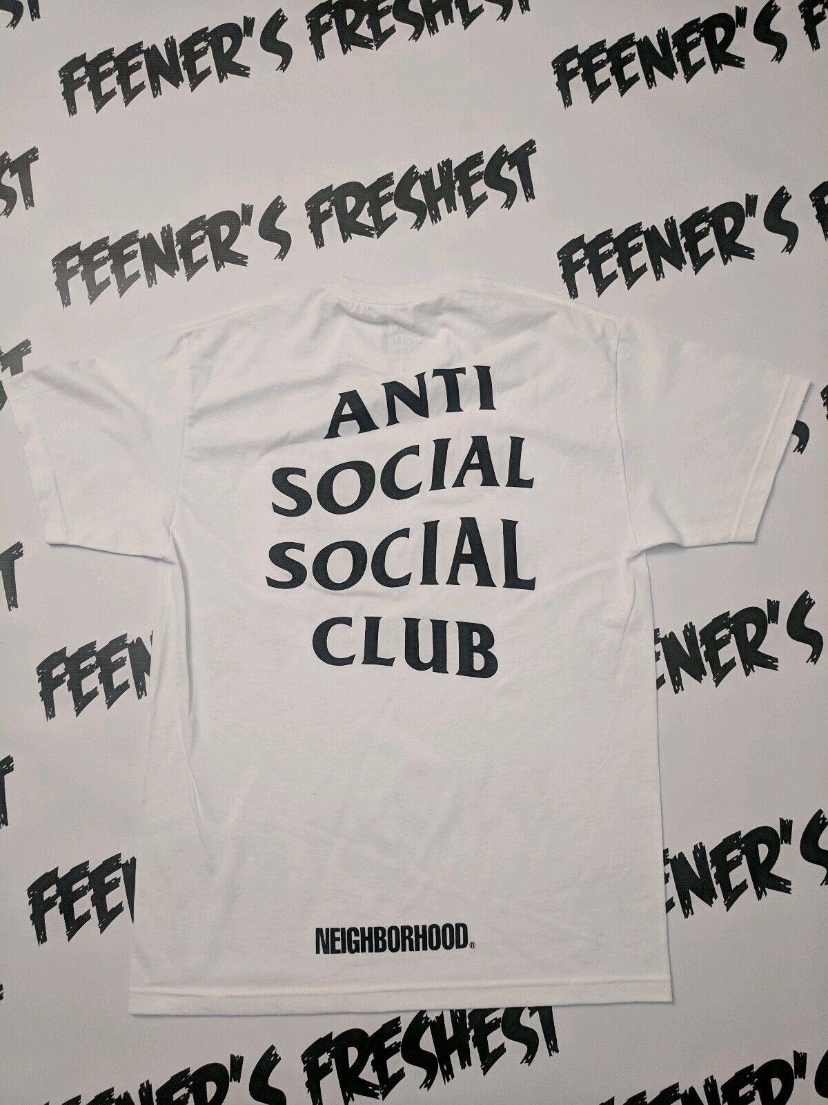 d1ddaf72 Anti Social Social Club T-Shirts Turbo Neighborhood Size Medium Brand New DS