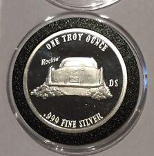 2000 Rockin' Goodtymes Bar & Grill 1 Troy Oz .999 Fine Silver Round Coin Spokane