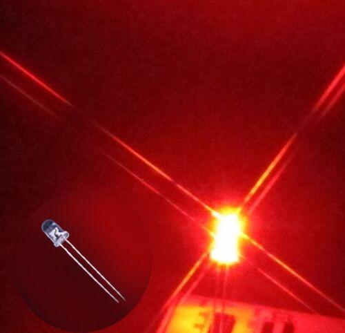 100 x 5mm round Red LED superbright bulb lamp light