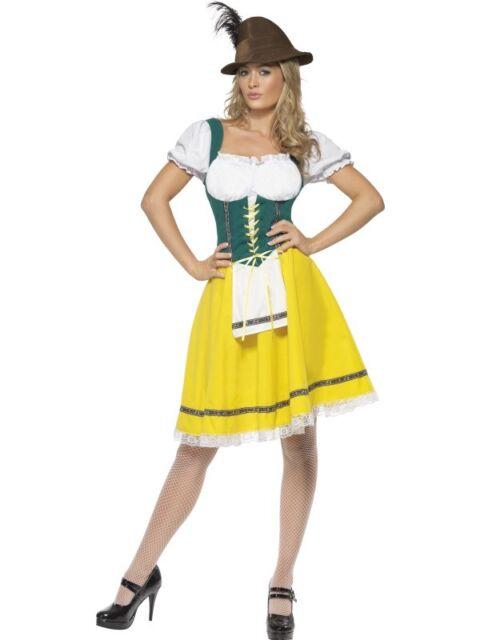 Oktoberfest Dirndl Kostüm Tracht Bierfest Bierkostüm Gr. XL Karneval - 41160