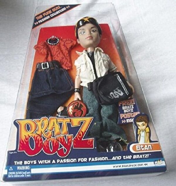 Bratz Boyz Funk Out Eitan Doll Collectible
