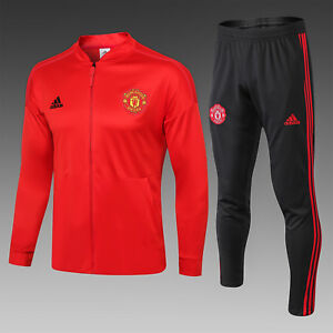 c44506a9c Image is loading Manchester-United-Football-Club-Tracksuit-Workout-Training- Kit-