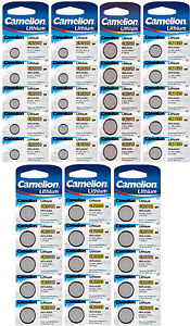 Camelion-Lithium-Knopfzellen-3V-CR-Edelstahl-Batterien-fuer-Alarmanlagen-Computer