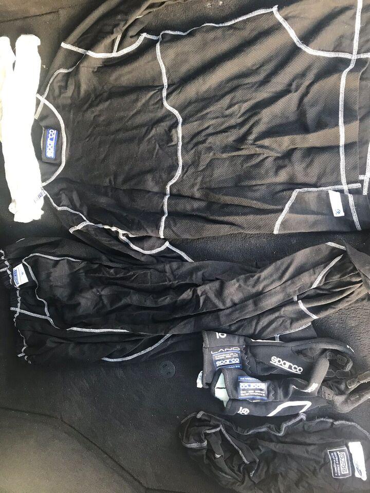 Køredragt, Komplet udstyr til banesport , Sparco Simpson