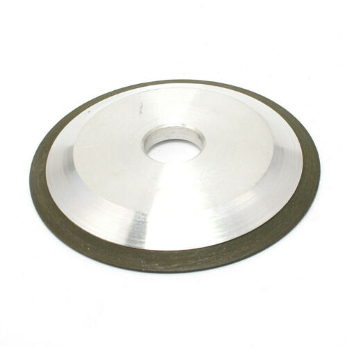 1pcs Grinding wheel Alloy For Carbide Metal 4 inch Hypotenuse 150 Grit