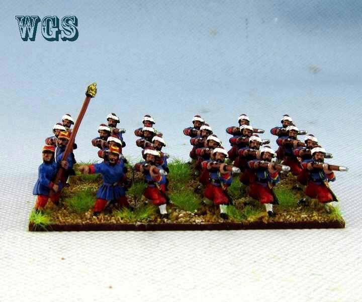 15mm Franco-Imperio Guerra un Pintado francés zuavos (24 figuras) PFA012