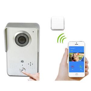 Wifi Video Door Bell Wireless Door Phone Unlock Door