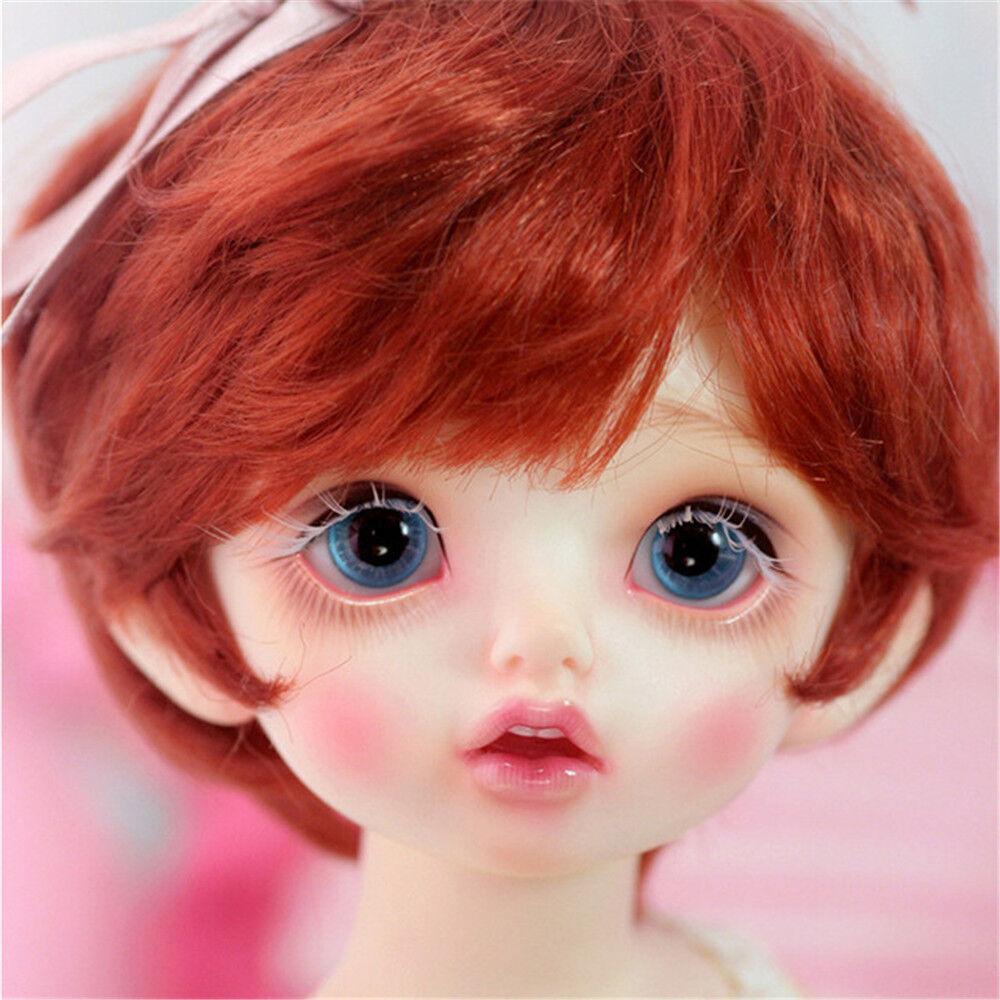 BJD SD doll - Karou 1 6 baby girl RECAST DOLLFIE NO MAKE UP CUTE FR ANIME MANGA