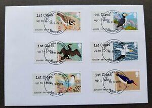 [SJ] Britain Frama Label Birds 2011 Fauna (machine ATM stamp FDC) *rare