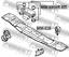 FEBEST Lagerung Schaltgetriebe MM-K94WR-KIT für MITSUBISHI