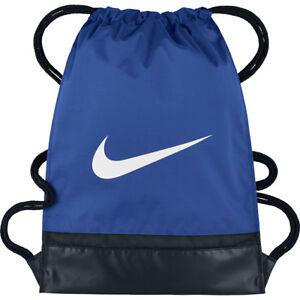 9de73f0434e32 Das Bild wird geladen Nike-Schuhbeutel-Turnbeutel-Sportbeutel-Beutel-Tasche- Stoffrucksack-17L-