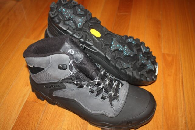 89904619245 New In Box Men's Merrell J36941 Overlook 6 ICE+ Waterproof Hiking Boots