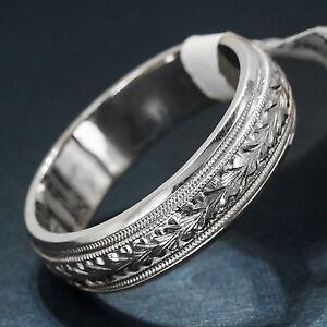 Tacori 18k White Gold Mens Wedding Band G089 Ebay