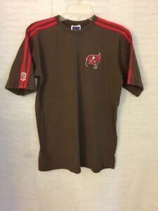VINTAGE TAMPA BAY BUCCANEERS Adidas T Shirt NFL Patch Logo YOUTH XL ... 53a85bcc0