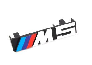 BMW-5-E34-Avant-Grille-M5-Badge-Embleme-51142230389-2230389-Neuf-Original
