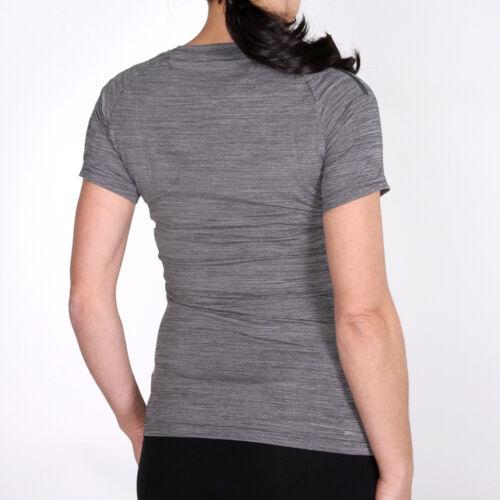 adidas Performance Tee W Grey Heather Damen Laufshirt T-Shirt Lurzarm Grau