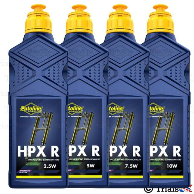 Putoline HPX R Fork Oil - 2.5w/5w/7.5w/10w - 1 Litre