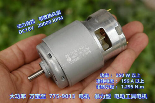 MABUCHI RS-775WC-9013 DC 12V~18V High Power Drill Screwdriver Electric 775 Motor