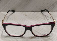 a34c6f40a43c Authentic Michael Kors MK 8022 3132 Abela IV Havana/Pink/Gold Eyeglasses 52*