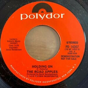 Road-Apples-Holding-On-7-034-US-Promo-1975-TOP-condition