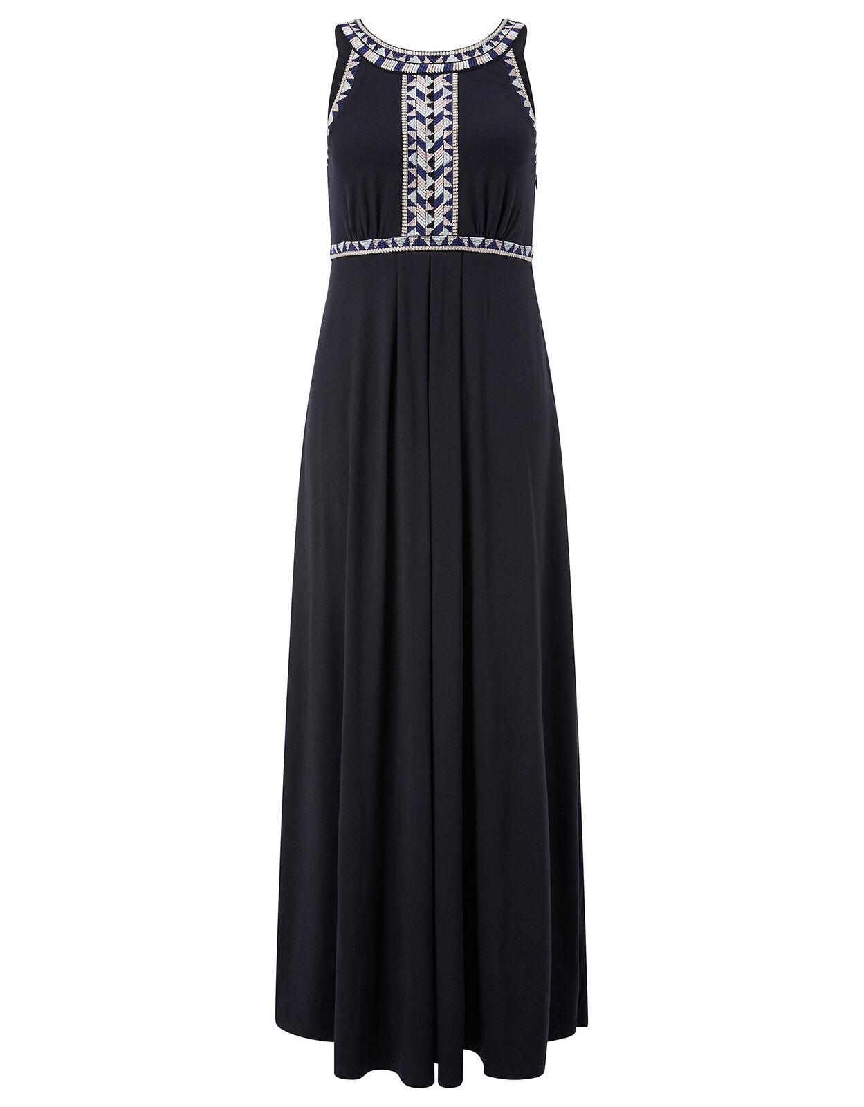 New Monsoon Emmi Embroidered Maxi Dress Dress Dress size 16 holiday beach wedding 9369dd