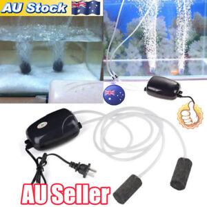 AU-2Pcs-Air-Bubble-Disk-Stone-Aerator-Aquarium-Fish-Tank-Pond-Oxygen-Pump