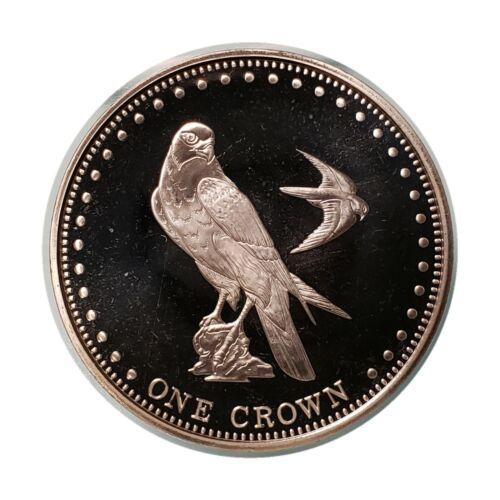 Gough Island 2009 One Crown Eagle Peregrine Falcon Tristan Da Cunha Queen Elizab