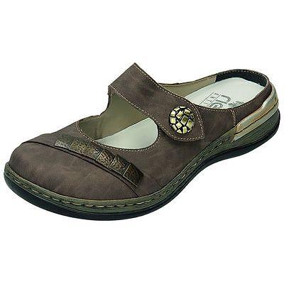 Rieker Schuhe Damen Pantolette Sabot 350452 +++NEU+++ | eBay