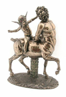 10.5 Inch Centaur And Eros Greek God Of Love Statue Sculpture Figure Roman Cupid