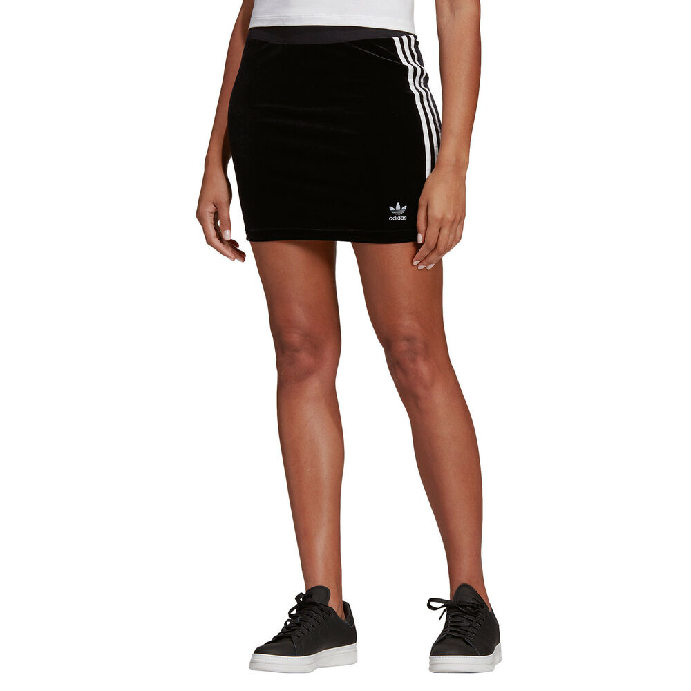 Adidas Original 3 Rayures Jupe Damen Jupe Mini Jupe Shirt-rock Jupe Crayon
