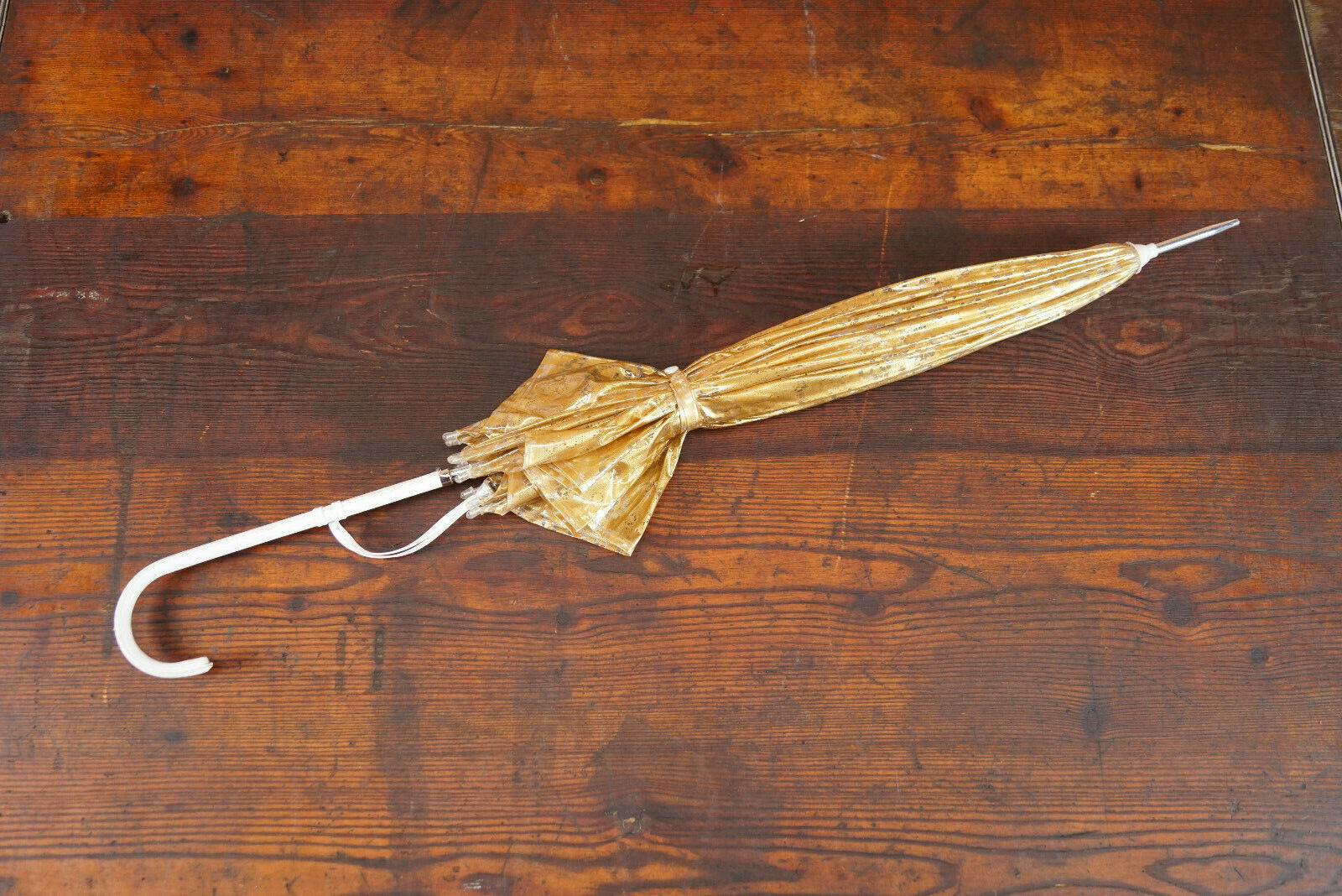 70er True Vintage Umbrella Retro Sunshade Umbrell… - image 3