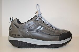 SKECHERS MENS SKETCHERS Blue Shape Ups Walking Sneakers