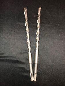 """Qty 10 SDS Rotary Hammer Drill Bits 1//4/"""" x 4 1//4/"""" fit Hilti Bosch DeWalt Mikita"""