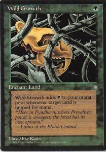 Wild Growth *Common* Magic MtG x1 Ice Age SP