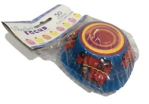 Fireman Fire Truck Patty Papers Pans Baking Cups Cupcake Papers Pack of 50!