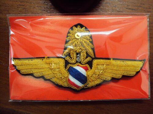 Pilot MASTER ROYAL THAI AIR FORCE WING Badge PIN Fighter Aircraf RTAF
