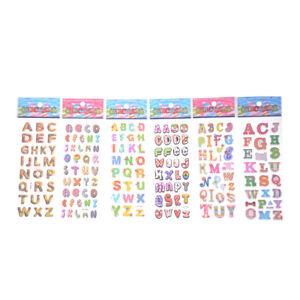 6-fogli-lettere-Scrapbooking-adesivi-bolla-3D-adesivi-di-cancelleria-del-fu-C-KT