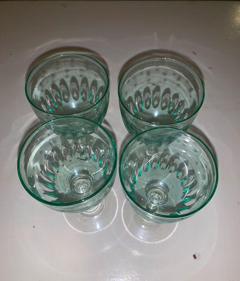 Glas, Dessertvinsglas
