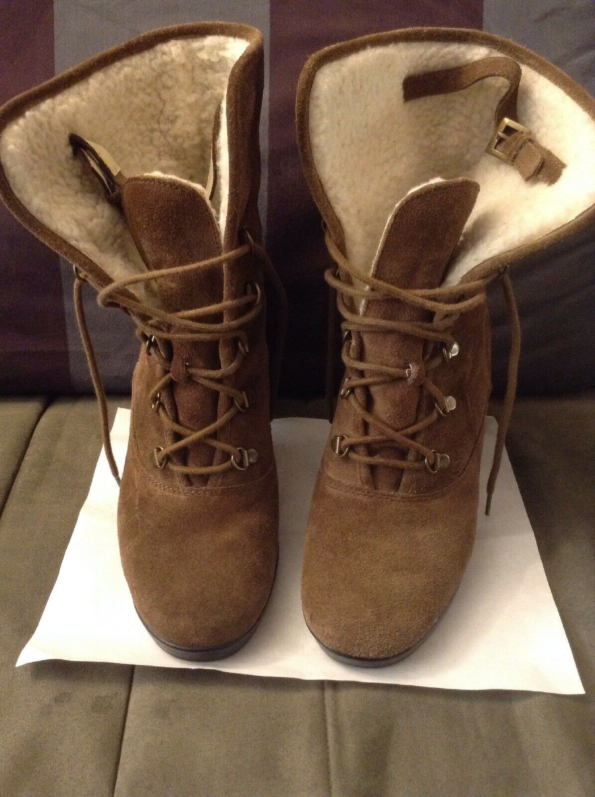Aerosoles Women Ankle Boots Size 8.5M Brown