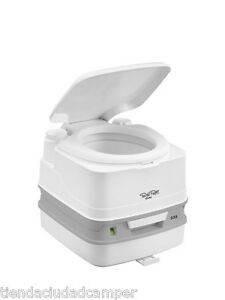 WC-Quimico-Portatil-Thetford-Porta-Potti-Qube-335-10-Litros-Furgoneta-Camper